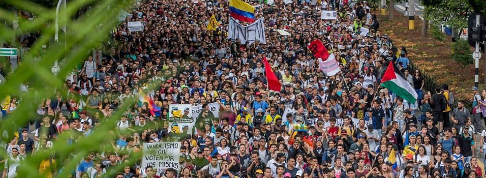 Siete días de protestas en Colombia: ¡fuera Duque!