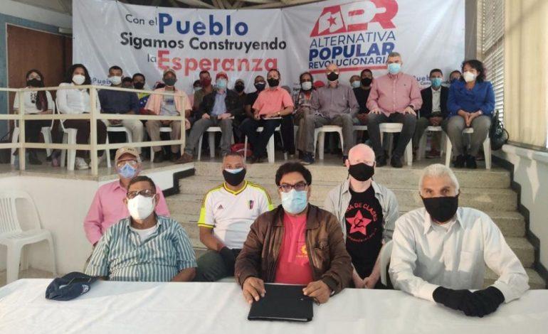 Venezuela: Alternativa Popular Revolucionaria lanza congreso fundacional