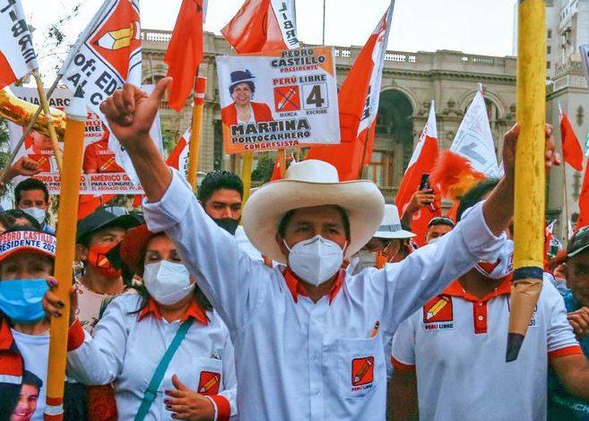 Perú: la sorpresiva victoria de un dirigente sindical combativo en las elecciones presidenciales reflejo de la crisis de régimen