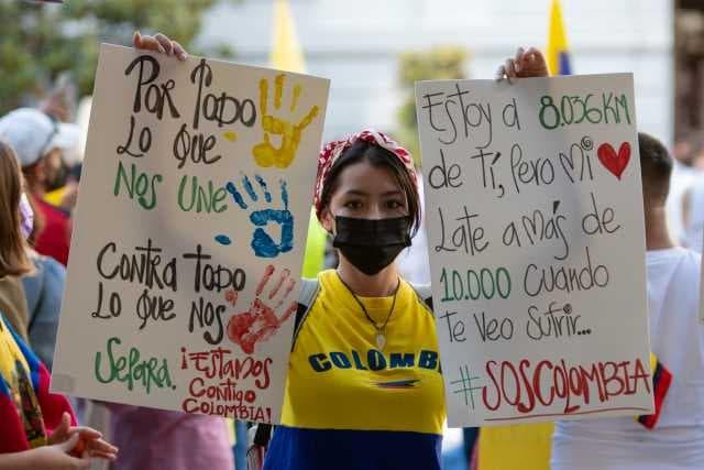 Entrevista a una joven colombiana en el estado español sobre el Paro Nacional