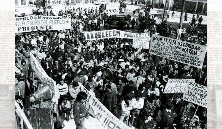 Lecciones del Paro Cívico de 1977